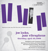Joe Locke with the Lincoln Symphony Orchestra