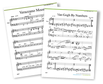 new Joe Locke lead sheets - Verrazano Moon and Van Gogh By Numbers