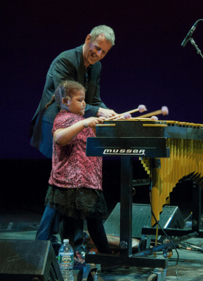 Joe Locke at WBGO's Jazz for Kids concert 2014