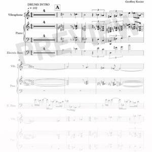 Geoffrey Keezer - Terrace sheet music