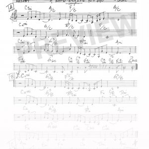 Joe Locke - A Word Before You Go sheet music