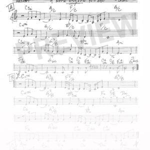 Joe Locke - A Word Before You Go sheet music