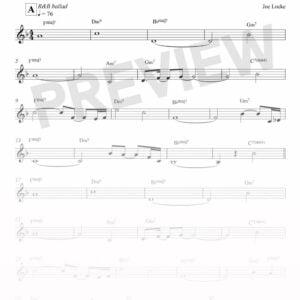 Joe Locke - This Is Just To Say sheet music