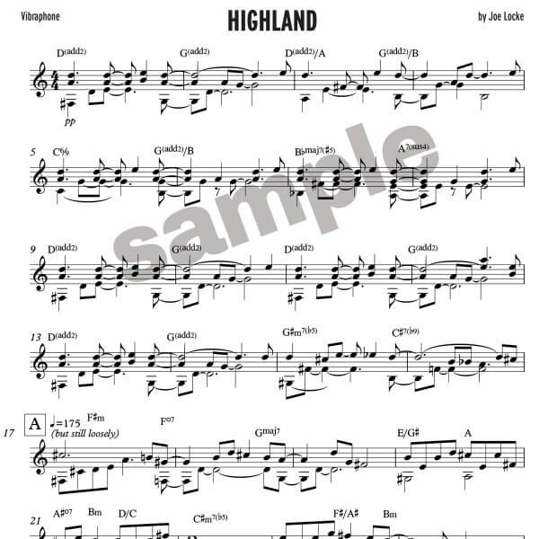 Joe Locke - Highland