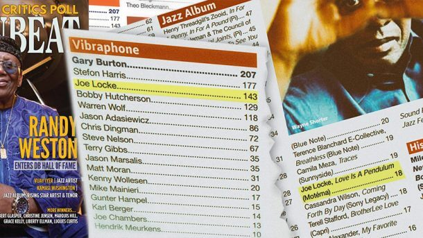 Joe Locke in DownBeat Magazine's Critics Poll