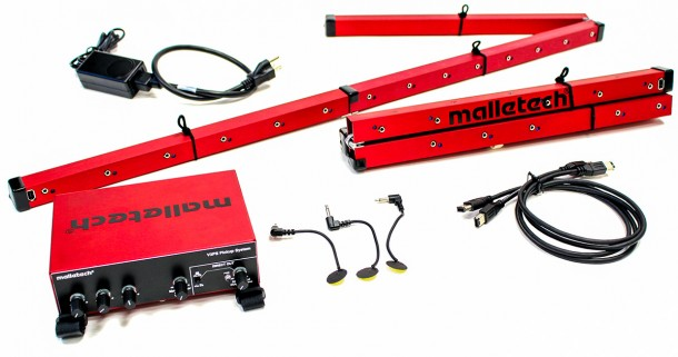 Malletech Omega Vibraphone and Pickup System